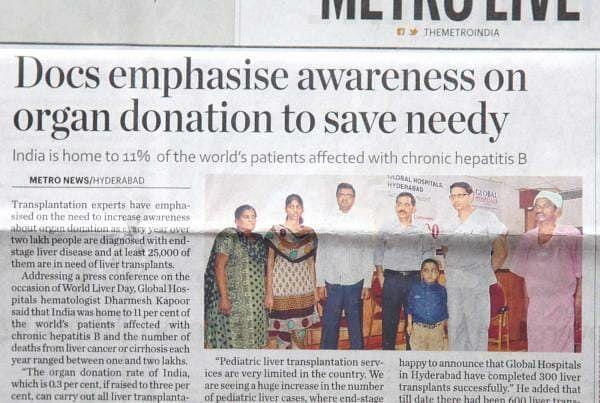 Docs Emphasis Awareness On Organ Donation To Save Needy