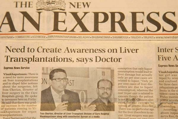 Need To Create Awareness On Liver Transplantations, Says Doctor